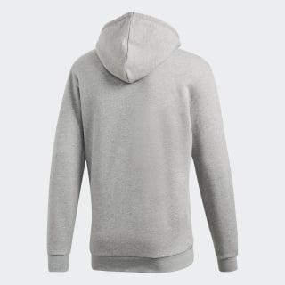 adidas trefoil hoodie grau m
