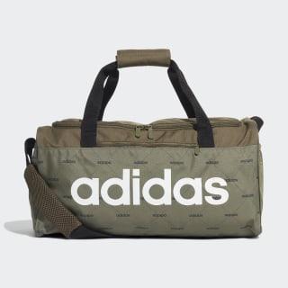 Linear Duffel Bag Raw Khaki / Black / White ED0300