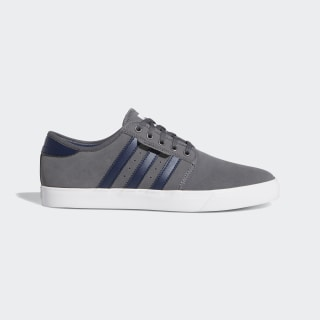 Seeley Shoes Grey / Collegiate Navy / Cloud White EE6138