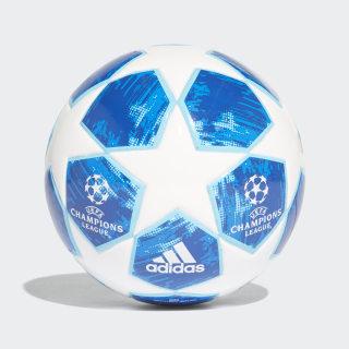Finale 18 Mini Ball White / Football Blue / Bright Cyan / Collegiate Royal CW4130