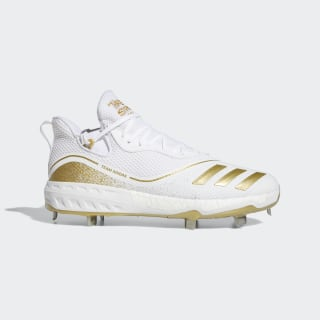 Icon V Cleats Cloud White / Gold Metallic / Core Black G28233