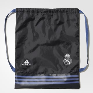 2a5b1f345 Bolsa Gym Bag Real Madrid - Preto adidas | adidas Brasil