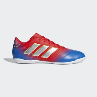 Chuteira Nemeziz Messi Tango 18.4 Futsal active red/silver met./football blue D97264