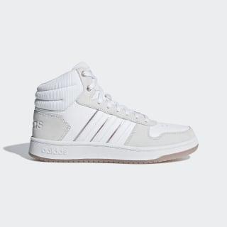 Баскетбольные кроссовки Hoops 2.0 Mid Cloud White / Cloud White / Grey B42109
