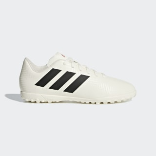 Zapatos de Fútbol Nemeziz Tango 18.4 Césped Artificial off white/core black/active red CM8523