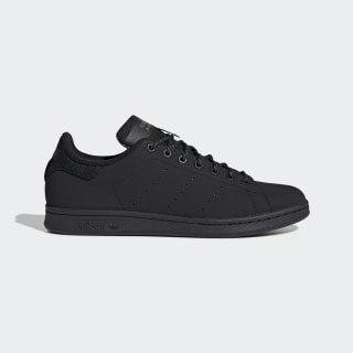 Stan Smith Ayakkabı Core Black / Core Black / Trace Green FV4641