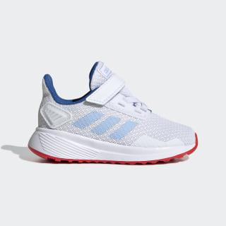 Zapatillas Duramo 9 Cloud White / Glow Blue / Active Red EE9002