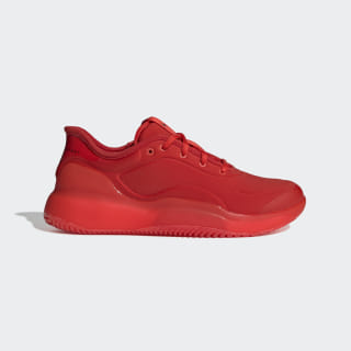 adidas by Stella McCartney Court Boost Shoes Active Red / Active Red / Black-White G26824