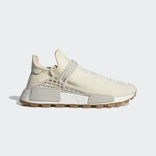 Pharrell Williams Hu NMD Shoes Cream White / Raw White / Gum 3 EG7737