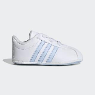 Zapatos Para Bebé Vl Court 2.0 ftwr white/AERO BLUE S18/light granite F36604