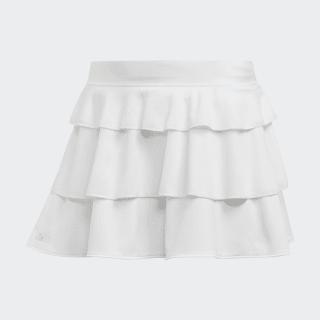 Frill Skirt White EC3563
