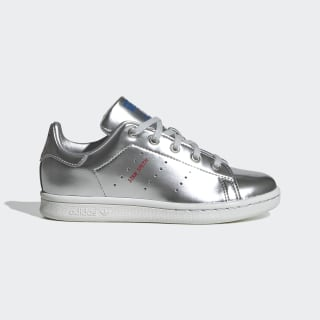 Stan Smith Shoes Silver Metallic / Silver Metallic / Crystal White FW8079