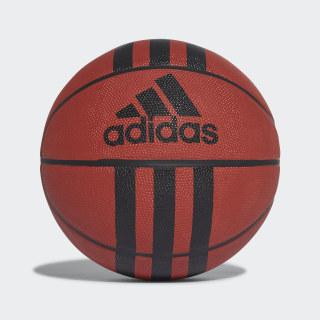 Piłka do koszykówki 3-Stripes Basketball Natural / Black 218977