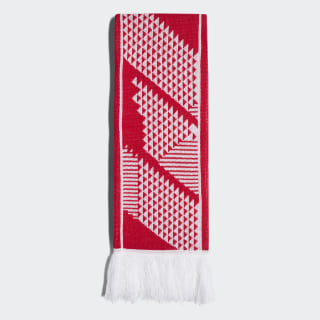 Russia Scarf Red / White CF5173
