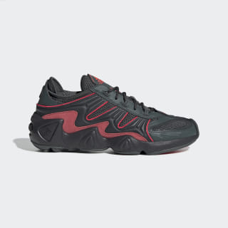 FYW S-97 Shoes Legend Ivy / Carbon / Shock Red EE5304