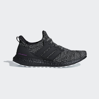 Ultraboost Shoes Running White / Core Black / Shock Pink BC0247