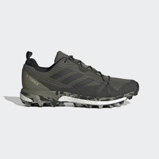 Terrex Skychaser LT Hiking Shoes legacy green / core black / feather grey EG1735
