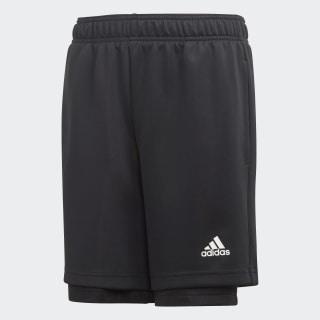 2-in-1 Mesh Shorts Black / White ED5769