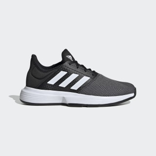 GameCourt Shoes Core Black / Cloud White / Grey Six EG2017