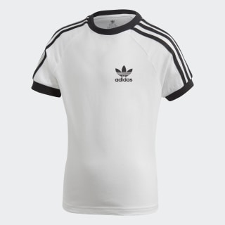Camiseta 3 bandas White / Black DV2860