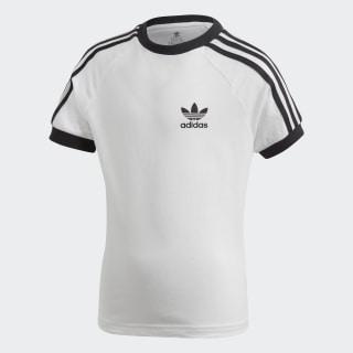 Tričko 3-Stripes White / Black DV2860