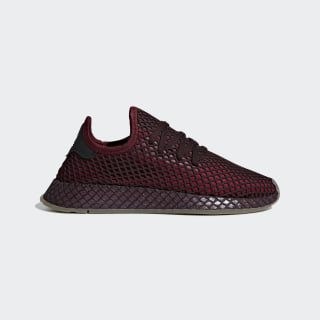Deerupt Runner Shoes Collegiate Burgundy / Collegiate Burgundy / Ash Green B41875