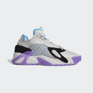 Zapatilla Streetball Grey Two / Active Purple / Shock Cyan FV4525