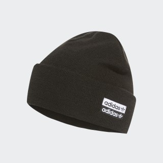 Cuff Knit Beanie Black / White ED8017