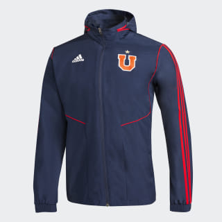 Chaqueta Impermeable Club Universidad de Chile collegiate navy / power red DP5118