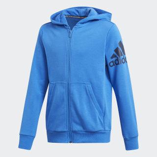 BOS Full Zip Hoodie Blue / Collegiate Navy DV0807