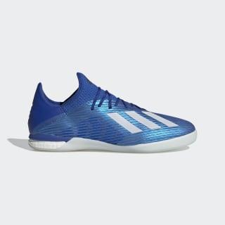 Botas de Futebol X 19.1 – Indoor Team Royal Blue / Cloud White / Core Black EG7134