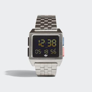 ARCHIVE_M1 Watch Silver Met. / Black / Lush Blue / Lush Red CJ6307