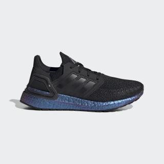 Sapatos Ultraboost 20 Core Black / Core Black / Boost Blue Violet Met. EG4807