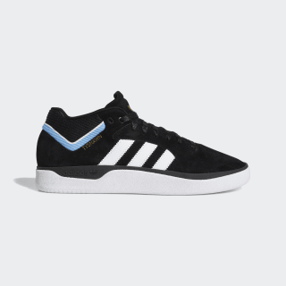 Tenis Tyshawn core black/ftwr white/light blue EE6076