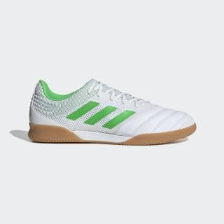 Calzado de fútbol Copa 19.3 Fútsal Bajo Techo Cloud White / Solar Lime / Gum BC0559