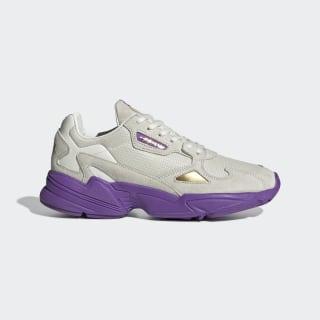 Originals x TfL Falcon sko Off White / Collegiate Purple / Gold Met. EE7882