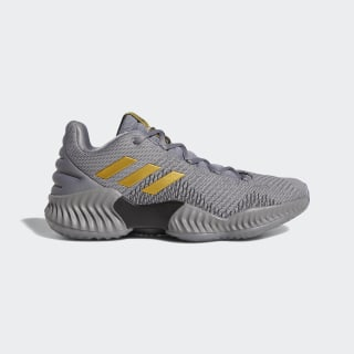 Pro Bounce 2018 Low Shoes Grey Three / Gold Met. / Grey Four AH2683