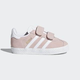 Gazelle Shoes Icey Pink / Cloud White / Cloud White AH2229