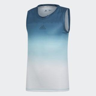 Camiseta sin mangas Parley Blue Spirit / White DU2470
