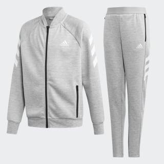 Tuta Medium Grey Heather / White ED6216