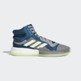 Marquee Boost Schuh Tech Mineral / Glow Green / Grey F97277