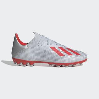X 19.3 AG Fußballschuh Silver Met. / Hi-Res Red / Cloud White F35336
