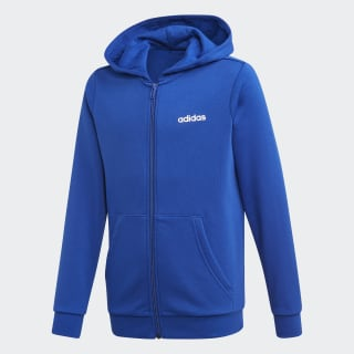 Essentials Linear Hoodie Collegiate Royal / White EI8001