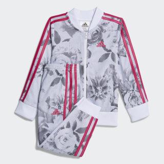 Floral Bomber Set White / Pink CK1525