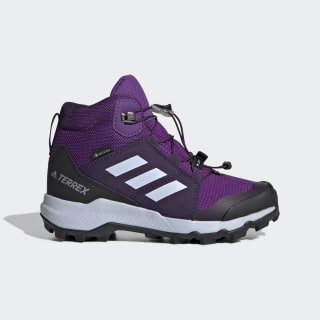 Terrex Mid GORE-TEX Hiking Shoes Active Purple / Aero Blue / True Pink BC0597