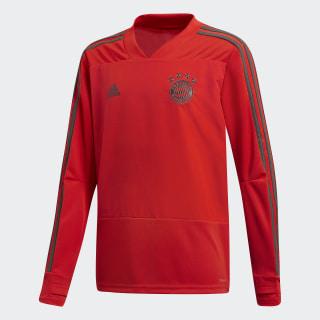 Maglia da allenamento FC Bayern München Red / Utility Ivy CW7294