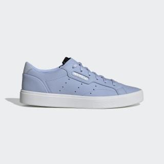 Кроссовки adidas Sleek periwinkle / periwinkle / crystal white DB3259