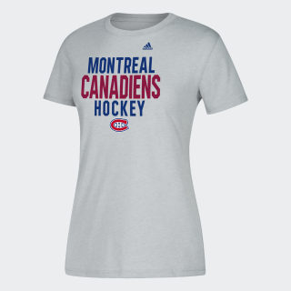 Canadiens Hockey Tee GREY / Medium Grey Heather DP7861