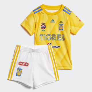 Mini Uniforme de Local Tigres UANL COLLEGIATE GOLD/BOLD GOLD/BLUE/WHITE CD6009
