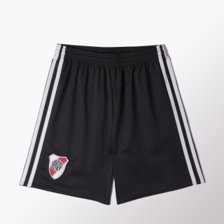 Shorts Titular River Plate Réplica BLACK/DARK GREY BJ8907